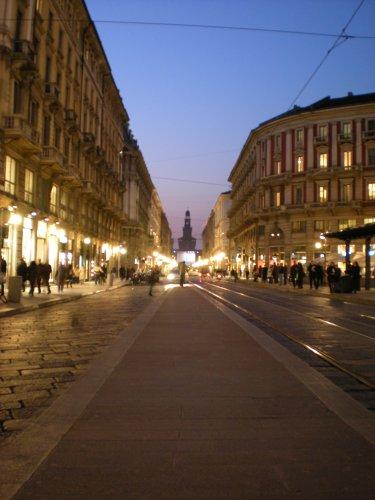 Luci in Piazza Cordusio - Milano (2768 clic)