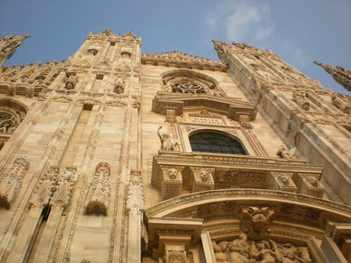Guglie del Duomo - Milano (2347 clic)