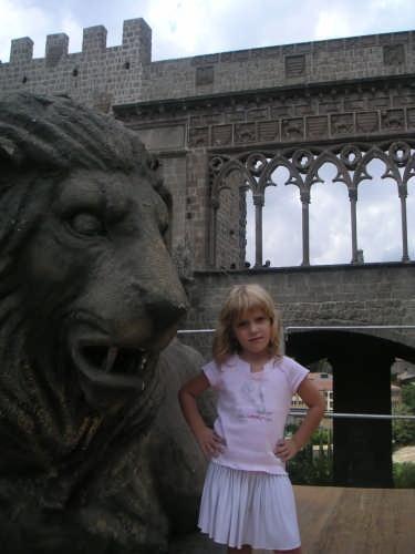 Il leone e la principessa - Viterbo (3145 clic)