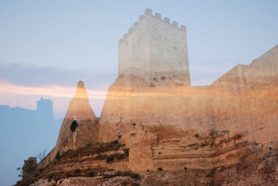 il castello di lombardia - Enna (2736 clic)