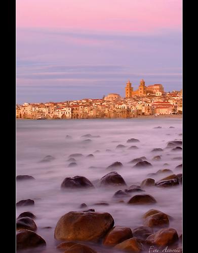 Dolce tramonto - Cefalù (5965 clic)