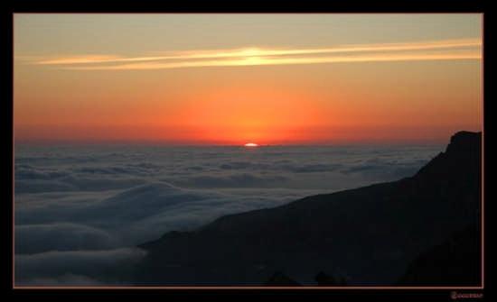 Tramonto  sulle nubbi - Caltabellotta (3556 clic)
