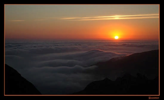 Tramonto  sulle nubbi - Caltabellotta (3716 clic)