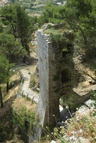 Il Castello Sibilla o Luna - Caltabellotta (2030 clic)