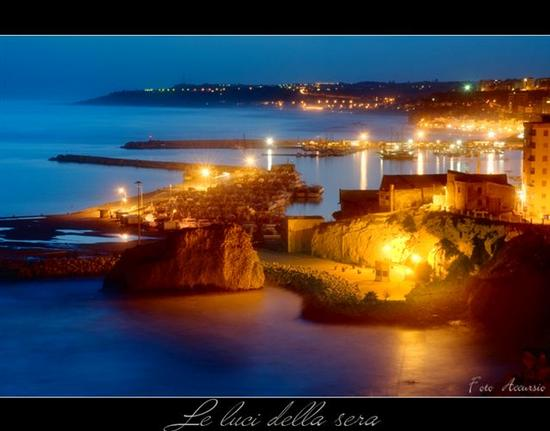 Le luci della sera - Sciacca (6236 clic)
