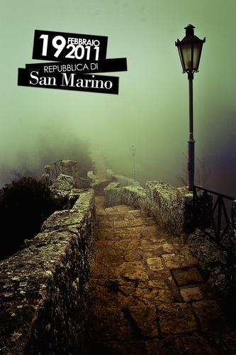 Nebbia - San marino (1953 clic)