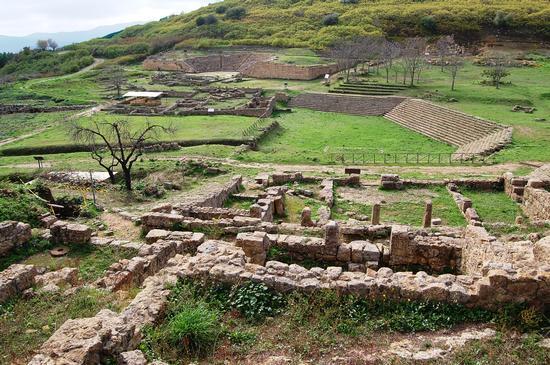 Morgantina , sito archeologico (4616 clic)