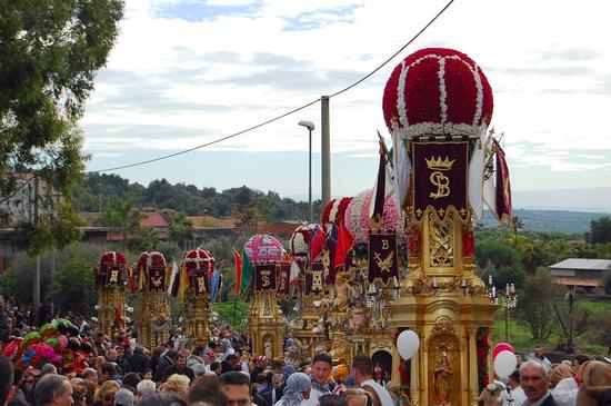 Festa di S. Barbara - Paternò (2620 clic)