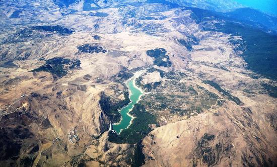 Troina.Vista aerea dell'Ancipa (2127 clic)