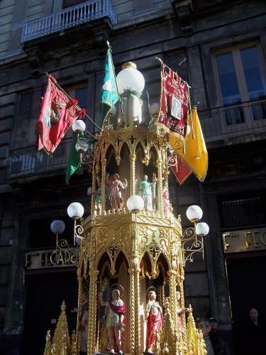 Festa di S. Agata.Candelore. - Catania (5947 clic)