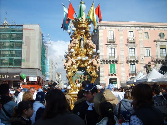Candelore a Catania (5049 clic)