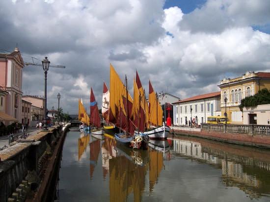 Barche storiche - Cesenatico (4746 clic)