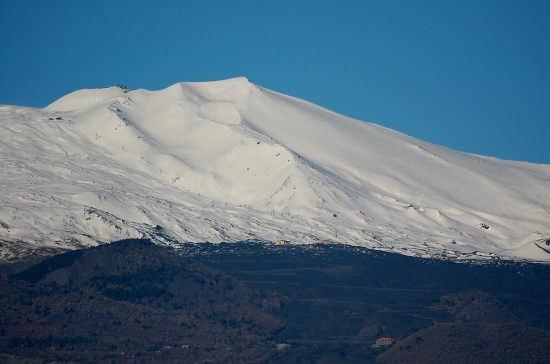 Etna.Impianti sciistici versante Sud. (3960 clic)