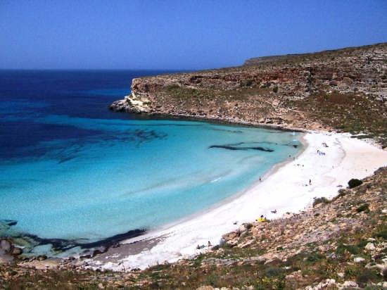 Lampedusa . Baia  (11374 clic)