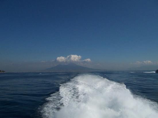 Napoli. Vista del Vesuvio  (3653 clic)
