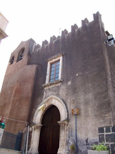 Paterno'.Chiesa di S. Maria Valle Josafat. - Paternò (4400 clic)