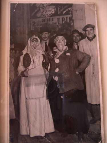 Carnevale 1950.Maschere. - Paternò (5014 clic)
