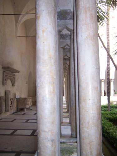 Particolare della Cattedrale di Positano - POSITANO - inserita il 04-Jan-08
