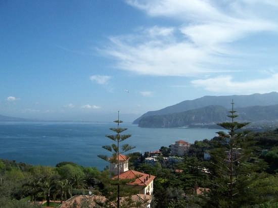 Veduta del Golfo di Sorrento (4267 clic)
