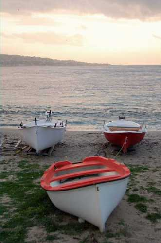 Barche sullo stretto - Ganzirri (4045 clic)