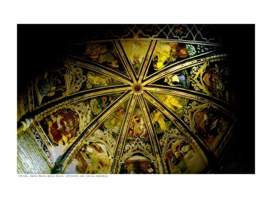 Santa Maria della Rocca: volta - Offida (3316 clic)