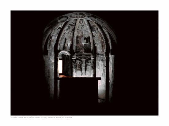 Santa Maria della Rocca: abside sn della cripta - Offida (2666 clic)