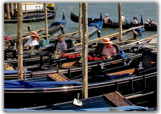 Momento di pausa - Venezia (2068 clic)