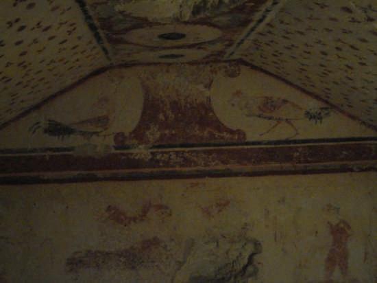 tomba dei fiorellini C.C. - Tarquinia (2650 clic)