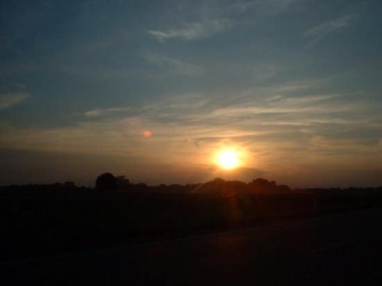tramonto lomellino - Vigevano (2144 clic)