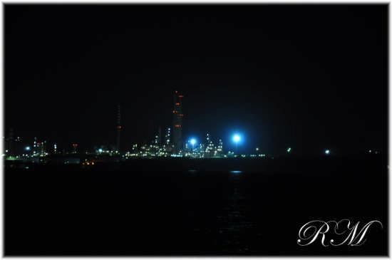 Augusta- Zona industriale di notte (4545 clic)
