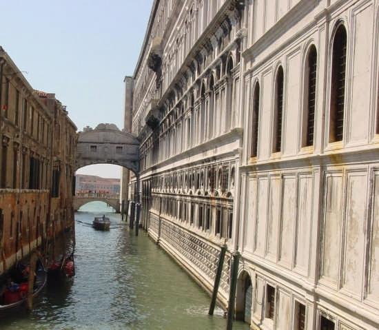 ponte dei sospiri - Venezia (1932 clic)