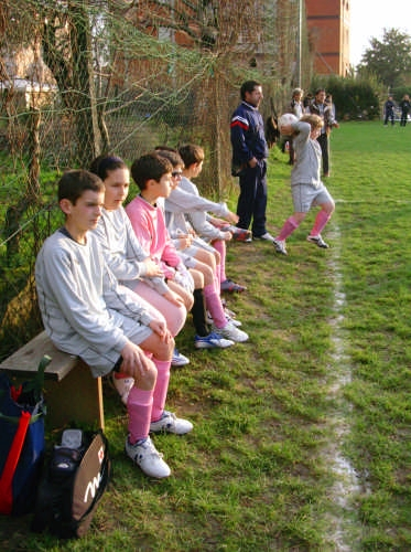 Cristoni - San Lazzaro - Pulcini 1998 -Amichevole Nicolisola - SARZANA - inserita il 06-Feb-08