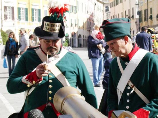 Le  Truppe - Napoleon Festival - Sarzana (2591 clic)