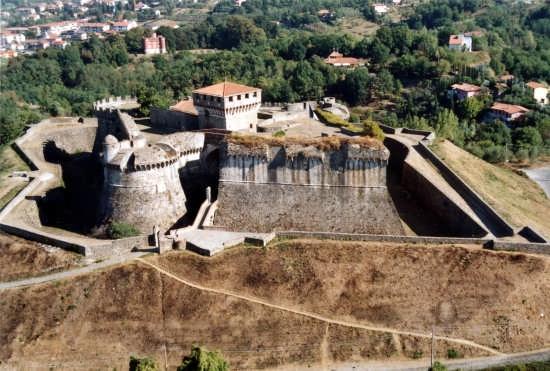 Fortezza Sarzanello - Sarzana (5556 clic)