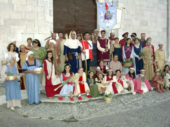Il Palio di Sarzana - Il Quartiere di Sarzanello (2695 clic)