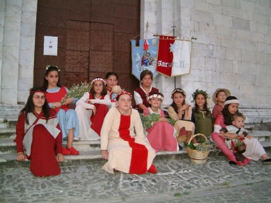 Palio di Sarzana - I Bimbi di Sarzanello (2349 clic)