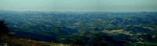Vista dal Monte Petrano - Cagli (2395 clic)