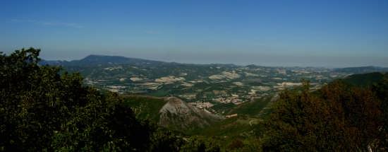 Vista dal Monte Petrano - Cagli (3658 clic)