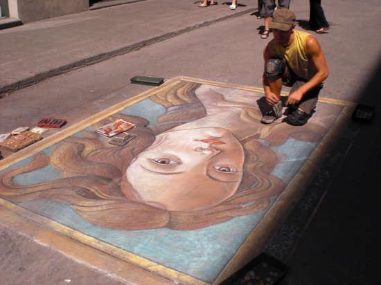 Artisti di strada! - Firenze (2371 clic)