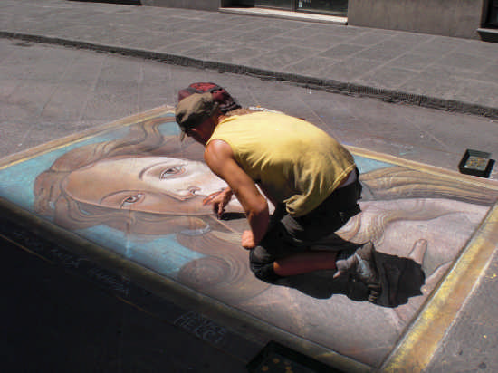 Artisti di strada! - Firenze (2780 clic)