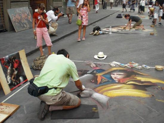 Artisti di strada! - Firenze (3003 clic)