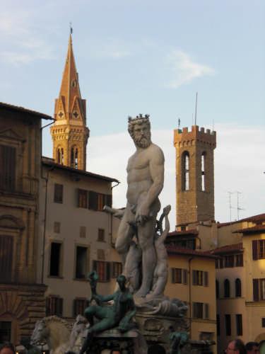 fontana di Nettuno - Firenze (2461 clic)
