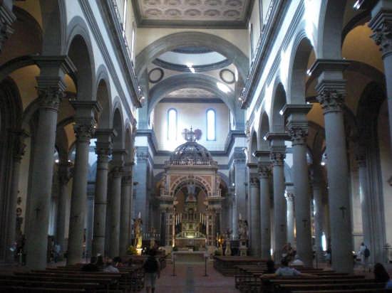 Basilica di Santo Spirito - Firenze (3571 clic)