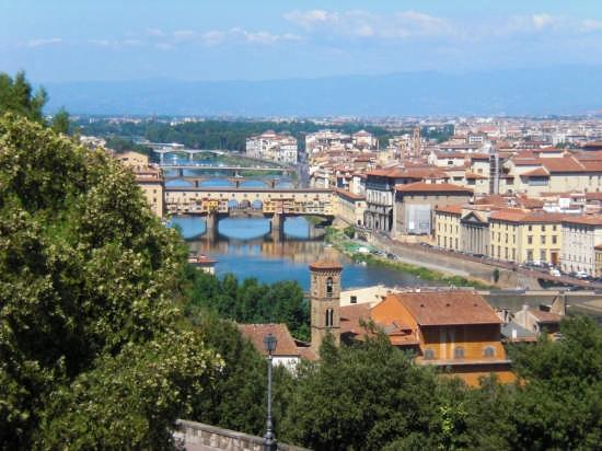 Piazzale Michelangelo - Firenze (2795 clic)