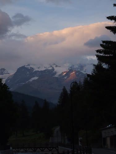 Tramonto sul Monte Rosa - Champoluc (3783 clic)