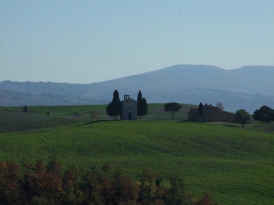 panorama da montepulciano - Pienza (2383 clic)