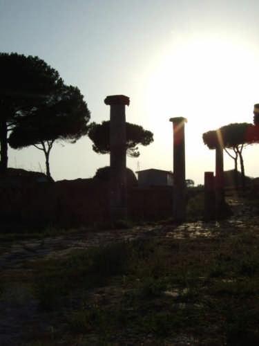 Scavi Ostia antica - Roma (1616 clic)
