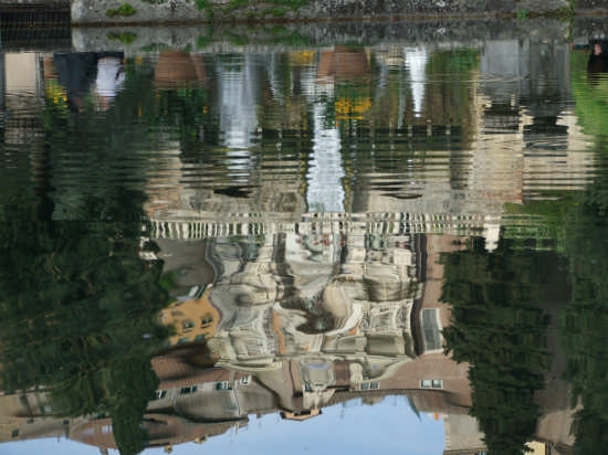 monumenti riflessi-villa d'este - Tivoli (4458 clic)