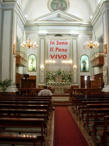 Parrocchia di S.M. Maddalena - Chiesa Madre Interno - Borgetto (5225 clic)