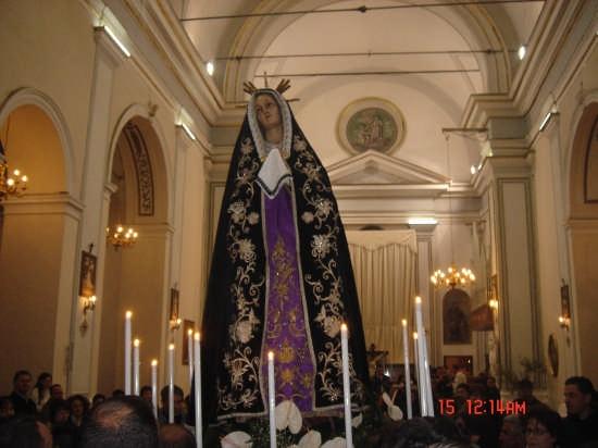 Processione Venerdì  Santo a Borgetto (6437 clic)